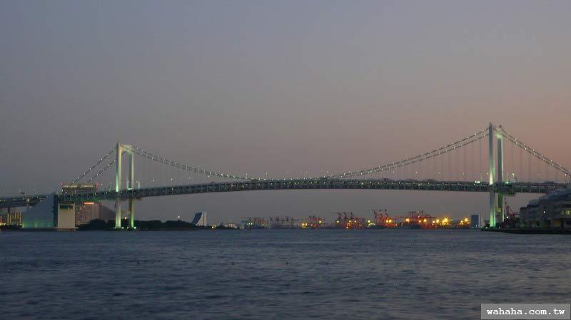 20071006 Day 28(2): 徒步走過彩虹大橋