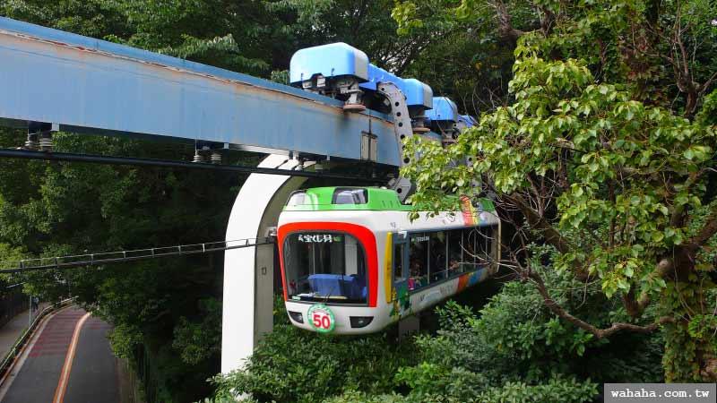 東京行第12天:高高在上的上野動物園單軌電車