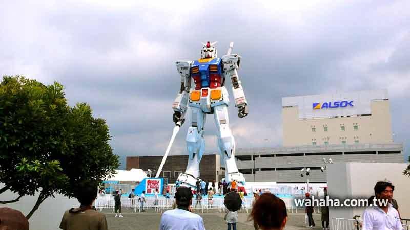 2010日本行:東靜岡,去看傳說中的1:1鋼彈