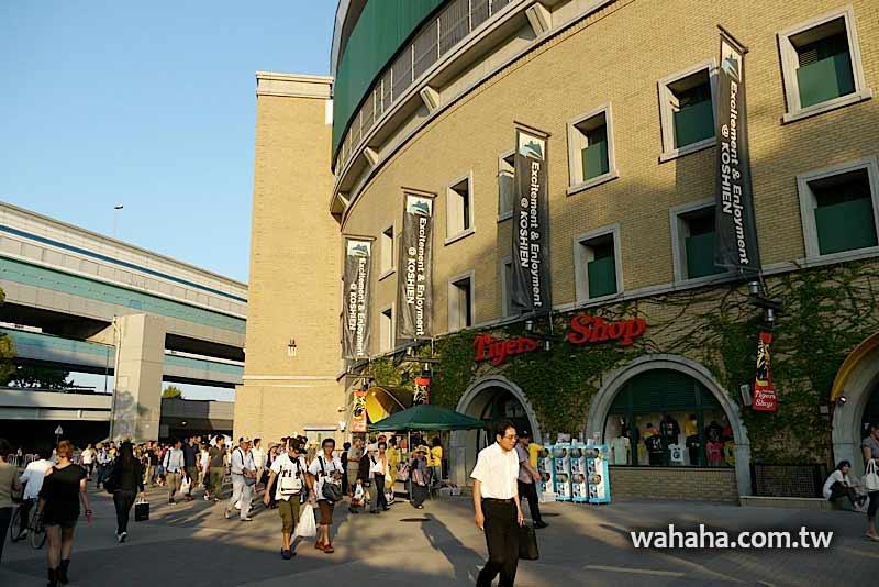 2010日本行:煥然一新的阪神甲子園球場:外觀篇 (Day08-2)
