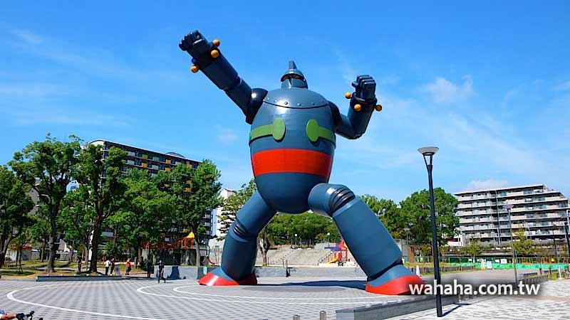 2010日本行:新長田,原寸大的鐵人28號 (Day09-1)