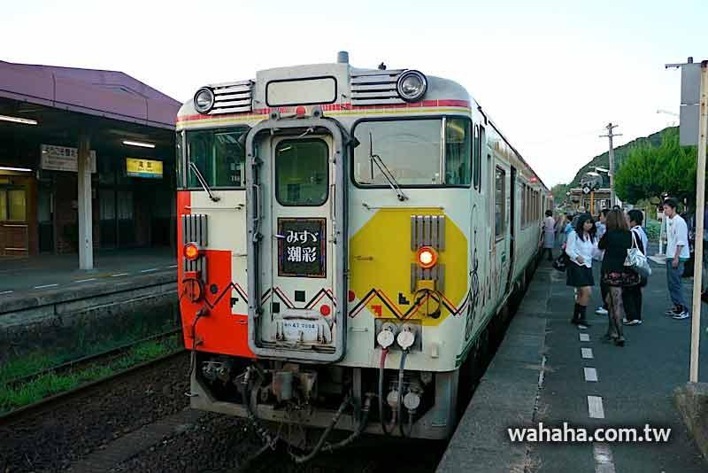 2010日本行:山陰本線觀光列車「みすず潮彩」 (Day07-6)