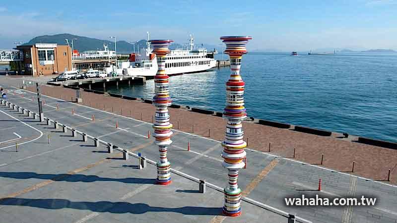 2010日本行:小逛四國門戶高松港 (Day10-1)