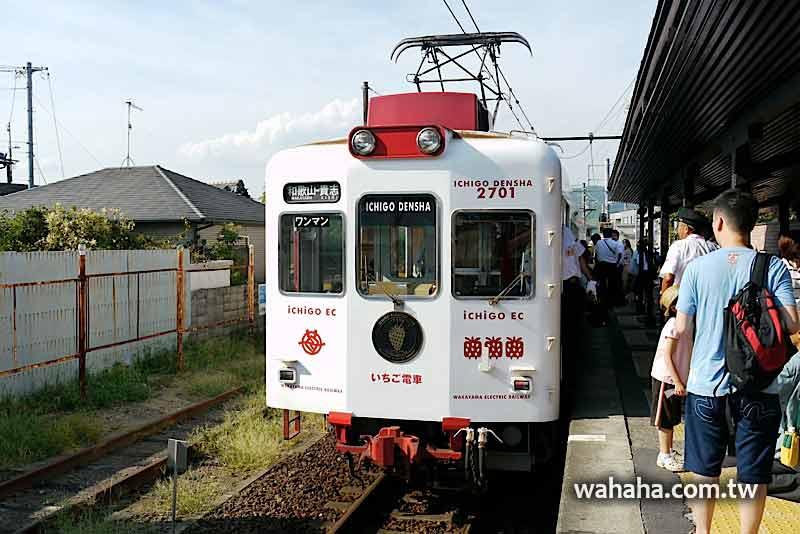 2010日本行:和歌山電鐵貴志川線的草莓電車 (Day09-4)