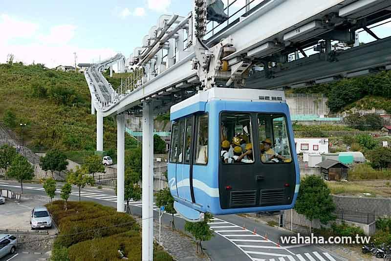 2010日本行:像纜車又像單軌電車的「廣島瀨野Skyrail」 (Day12-1)