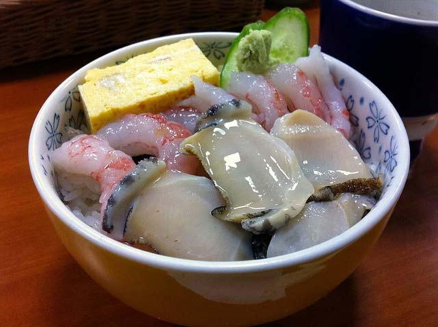 日本隨手拍:北海道増毛町「すが宗」超好吃的甜蝦