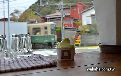 能看見江之電來來去去的甜點店:The Market SE1