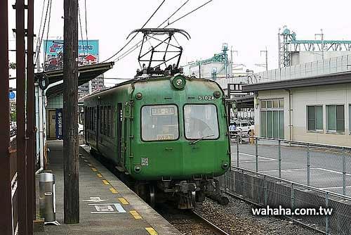 還在熊本電鐵辛勤工作的綠青蛙(東急5000系,青カエル)