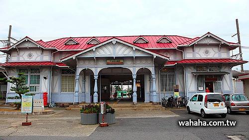 天天一車站:華麗的木造車站,南海電鐵「浜寺公園駅」