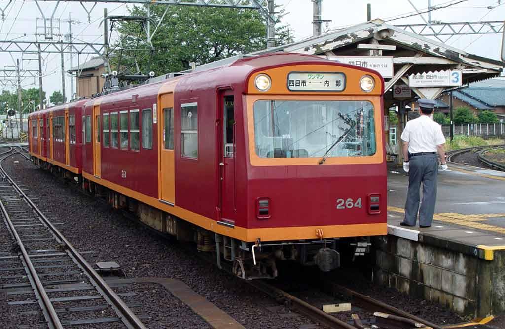 採用 762mm 窄軌的近鐵內部、八王子線