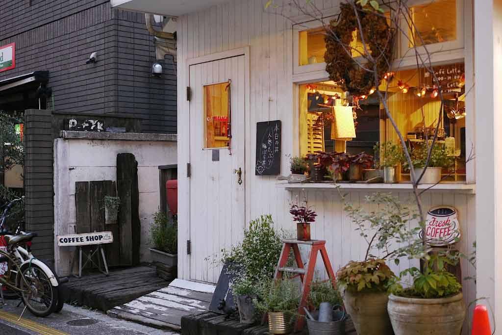 有著可愛表情的世田谷咖啡店:カフェ・ロッタ(Cafe Lotta)