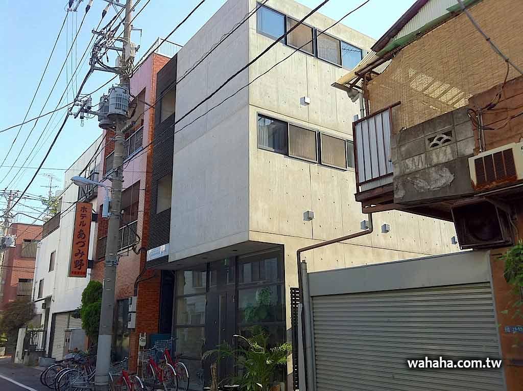 最有設計感的東京平價旅館:南千住 Kangaroo Hotel