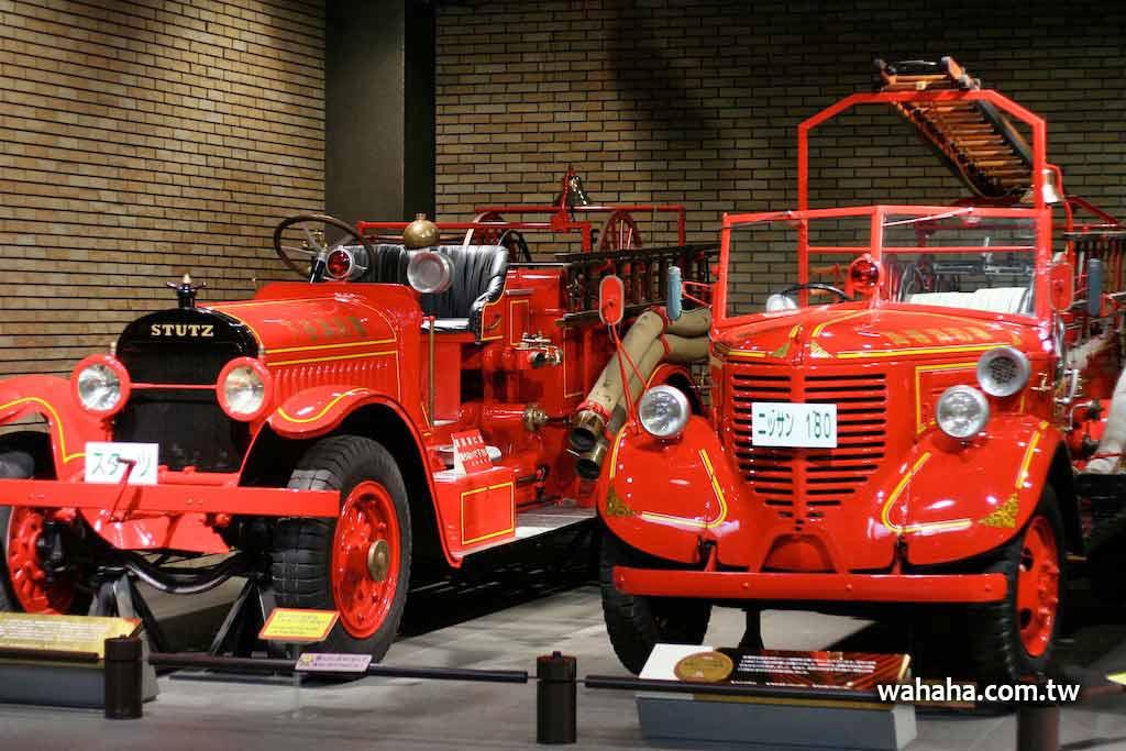 東京消防博物館散步記