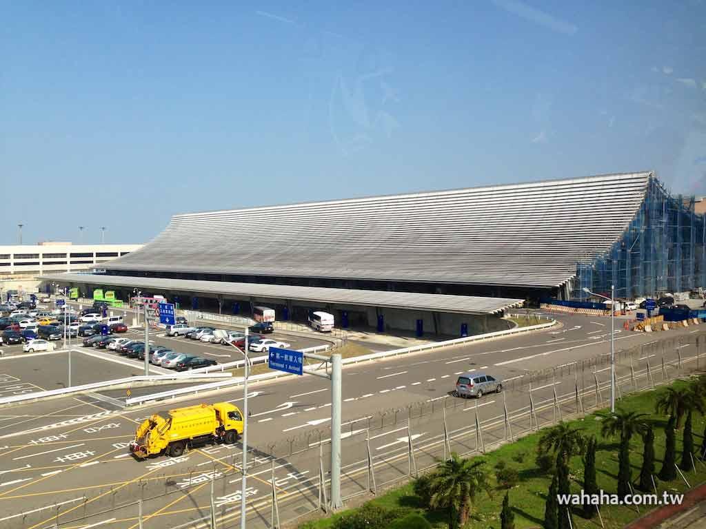 讓人耳目一新的桃園機場第一航站