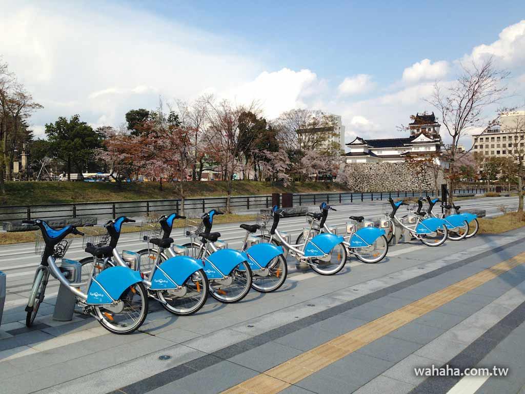 北陸富山市的市民共用自行車:シクロシティ富山(Cyclocity)