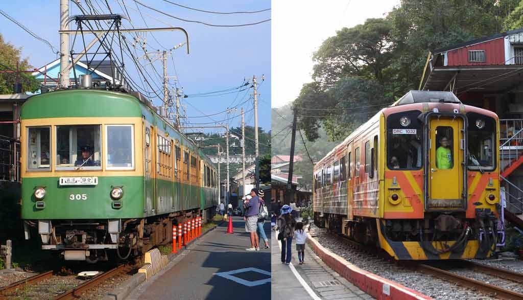 江之電推出「台灣平溪線觀光合作紀念」一日乘車券!