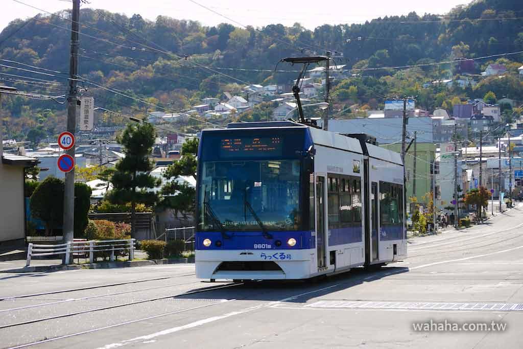 怒濤更新之路面電車(25):函館市電 9600 型「らっくる号」