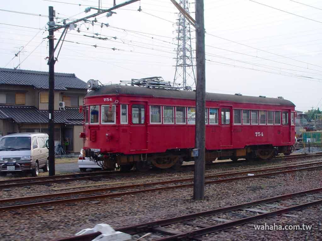 怒濤更新之路面電車(1):名古屋鐵道 754 號車