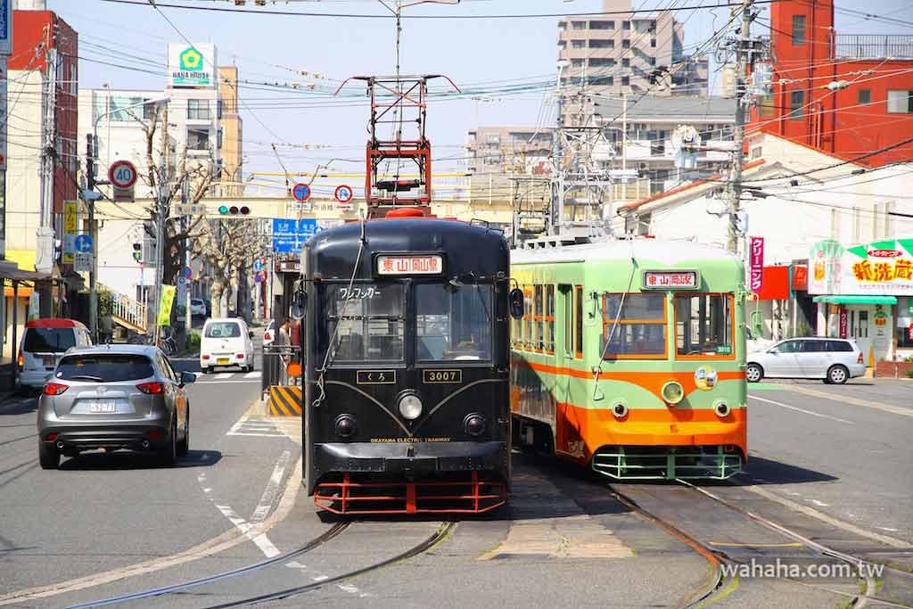 怒濤更新之路面電車(15):黑到發亮的岡山電軌Kuro 電車