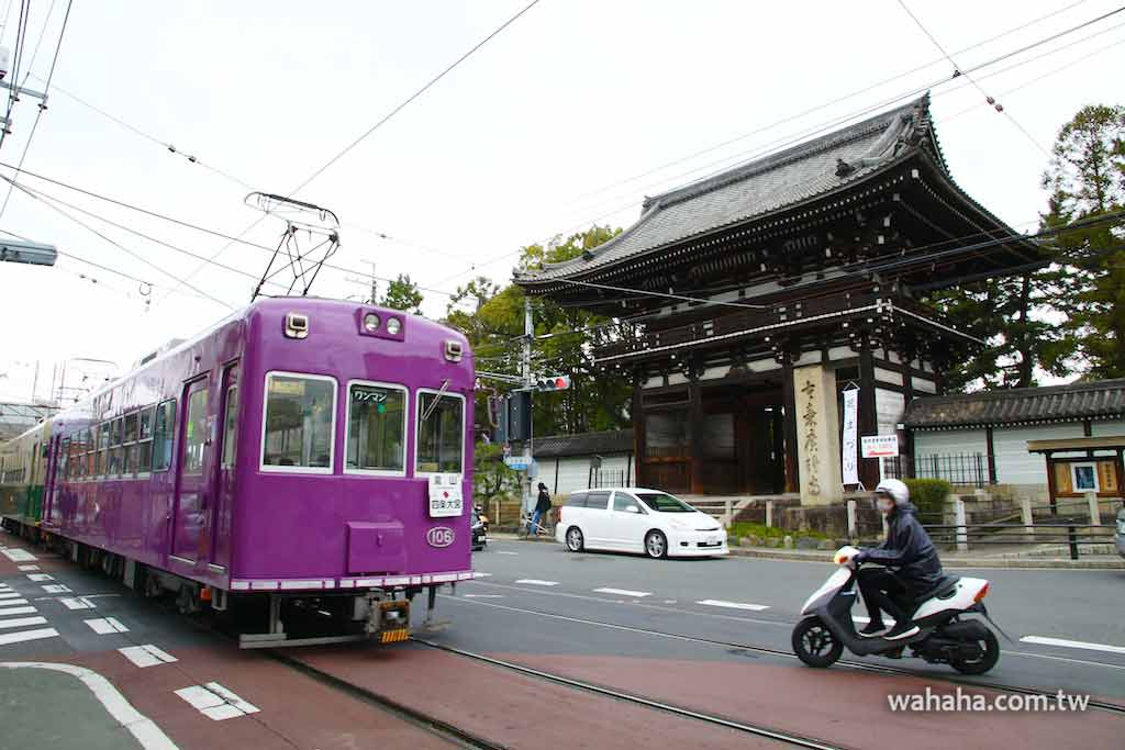 怒濤更新之路面電車(28):車窗外的風景,京都太秦廣隆寺