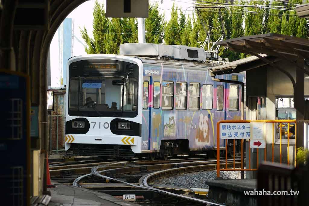 怒濤更新之路面電車(40):阪堺電車的貓熊彩繪電車