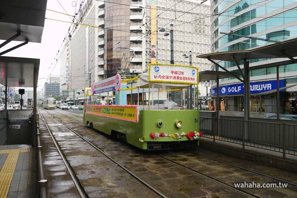 怒濤更新之路面電車(33):「沒車頂」的広島電鉄貨50形電車