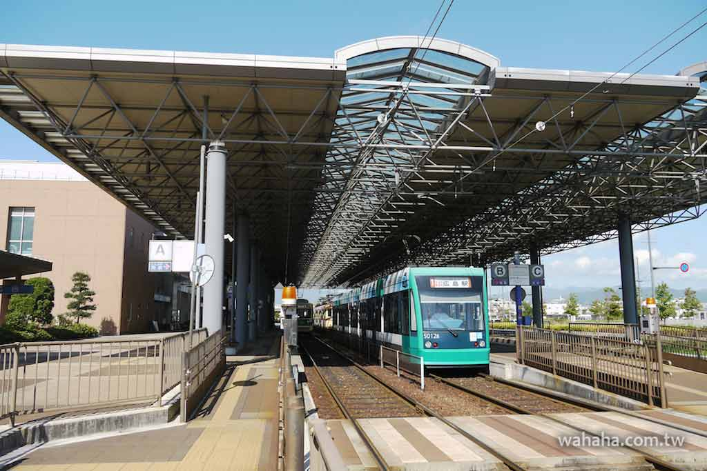怒濤更新之路面電車(59):氣派的廣島電鐵廣島港車站