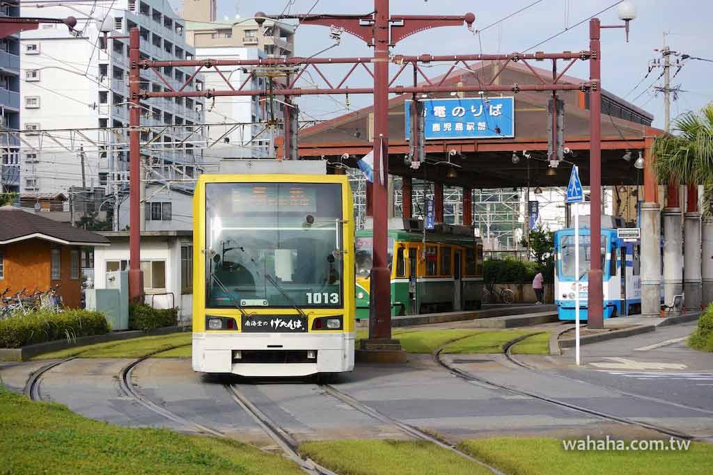怒濤更新之路面電車(56):有完整客室的超低床電車,鹿兒島市電1000型