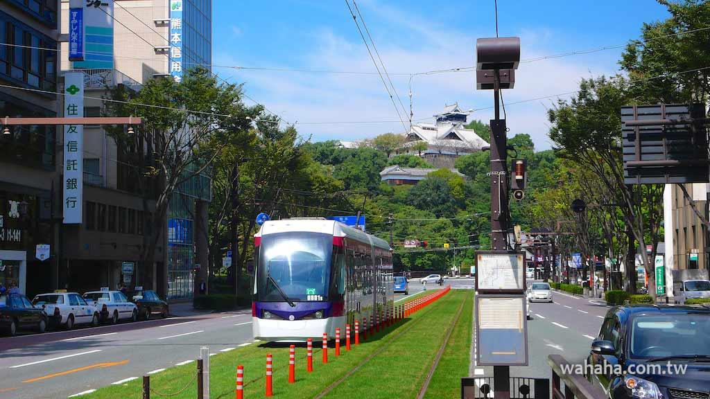 怒濤更新之路面電車(38):讓市民參與的熊本市電軌道綠化