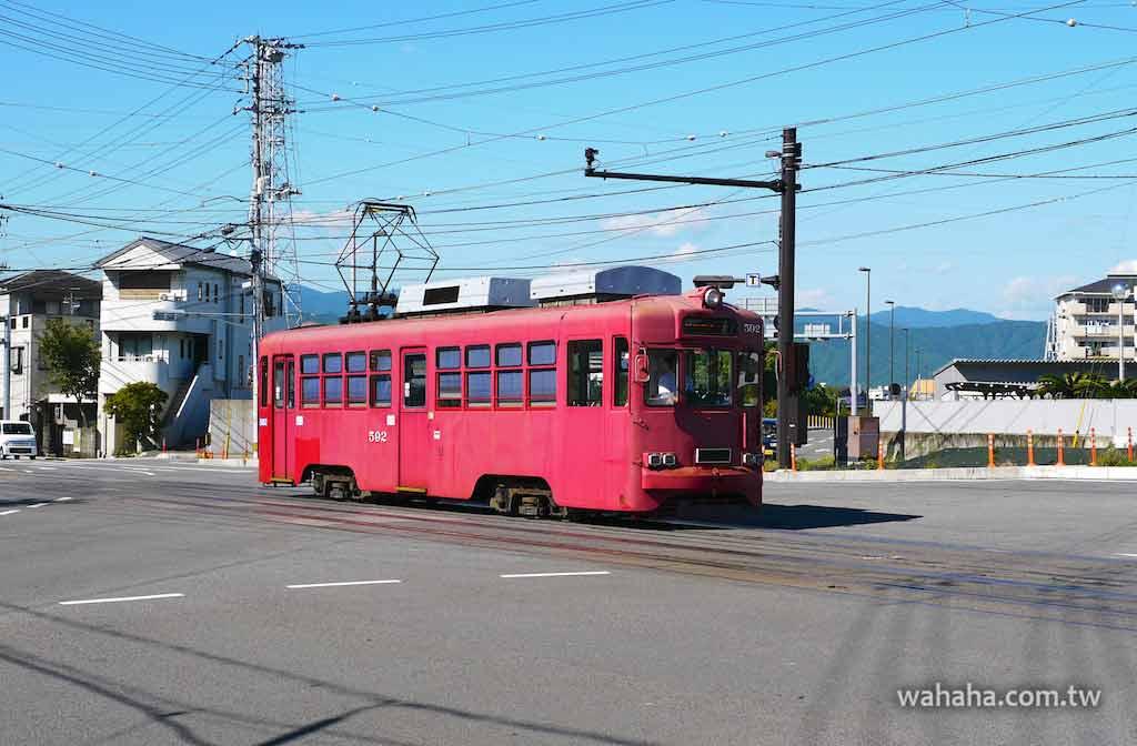 怒濤更新之路面電車(48):從岐阜來到高知的 とさでん交通 590 型電車