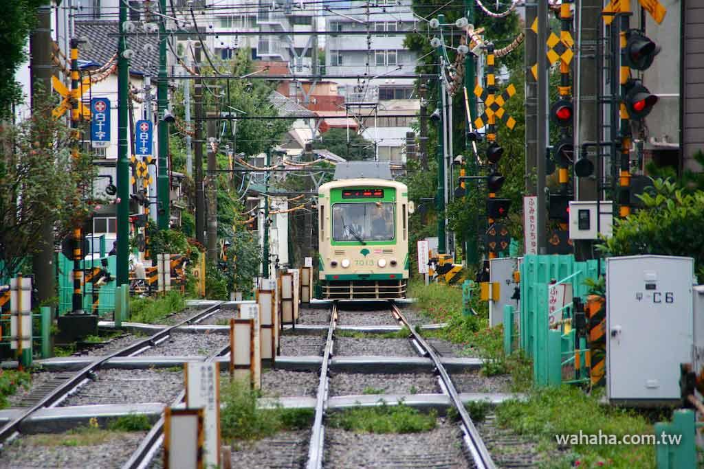 怒濤更新之路面電車(68):穿梭巷弄間的電車,都電荒川線「向原-東池袋四丁目」