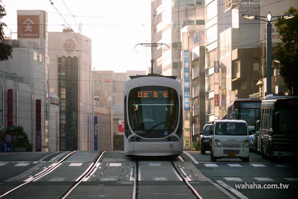 怒濤更新之路面電車(66):廣島電鐵 5100 型 Green Mover Max