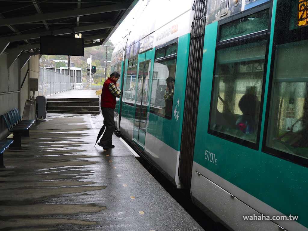 怒濤更新之路面電車(83):有著高低月台的廣島電鐵宮島線