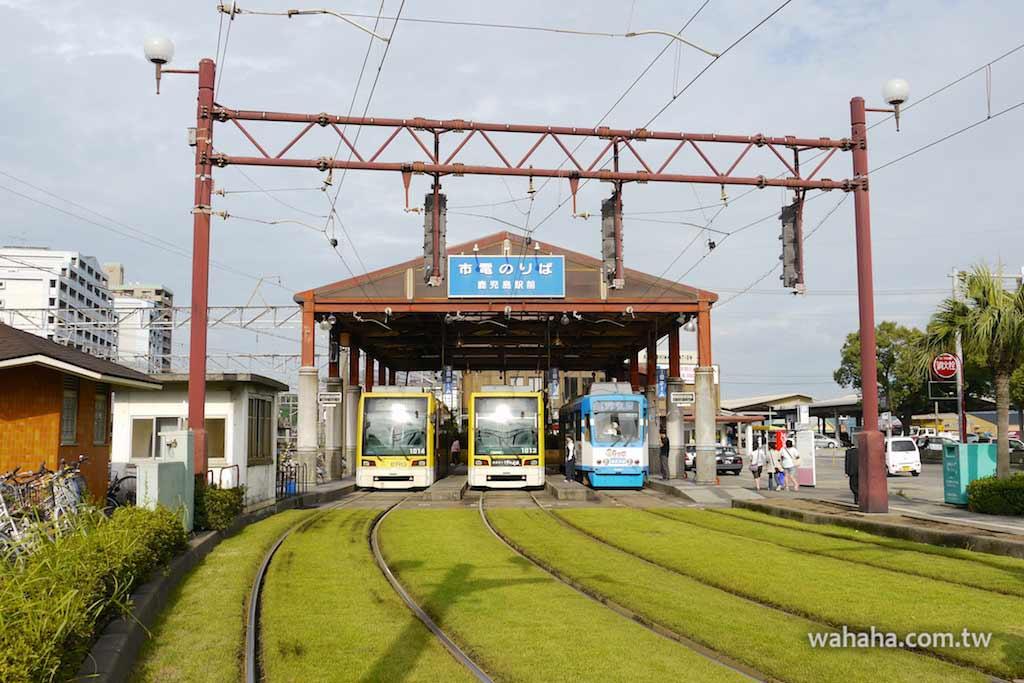 怒濤更新之路面電車(75):像電車展示櫃的鹿兒島市電鹿兒島駅