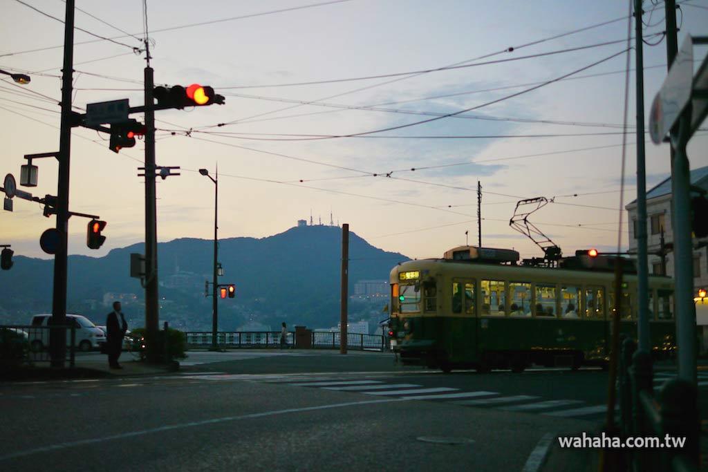 怒濤更新之路面電車(67):車窗外的風景,長崎稻佐山