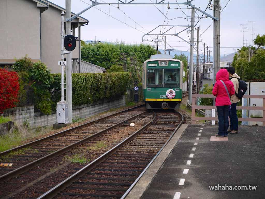 怒濤更新之路面電車(64):清楚又好看的嵐電車內站名顯示螢幕