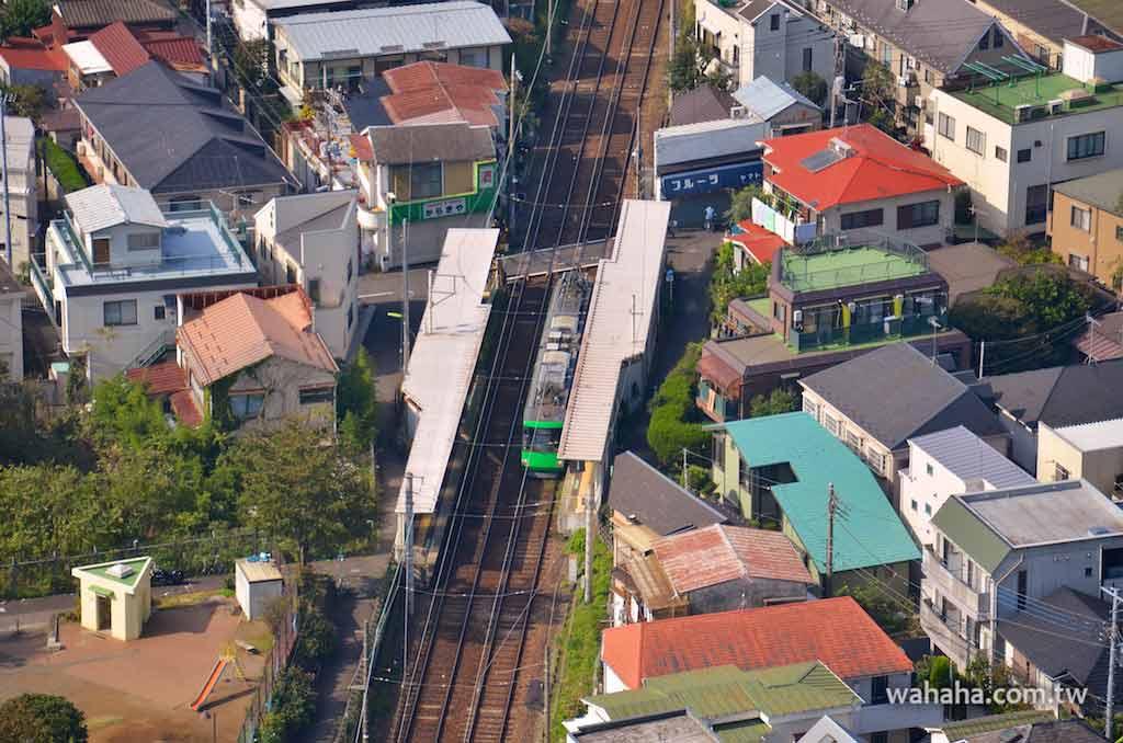 怒濤更新之路面電車(62):在三軒茶屋 Carrot Tower 眺望世田谷線