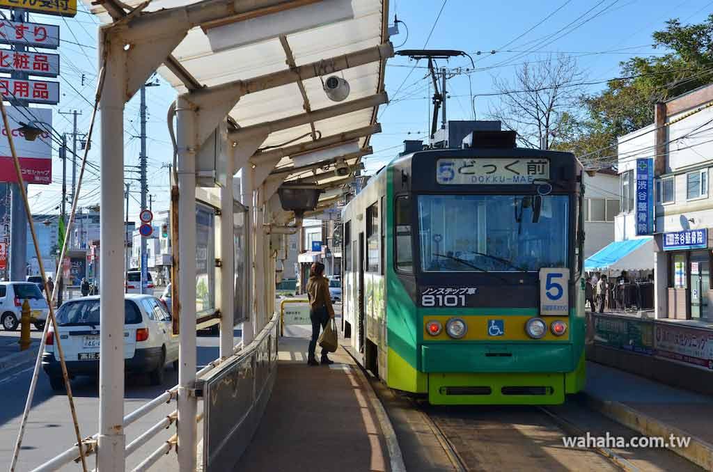 怒濤更新之路面電車(94):「部份低床車」函館市電 8100 型