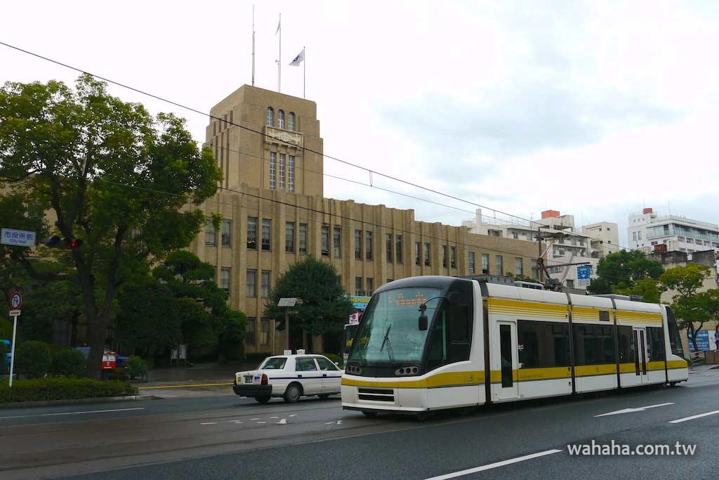 怒濤更新之路面電車(96):鹿兒島市電 7000 型電車