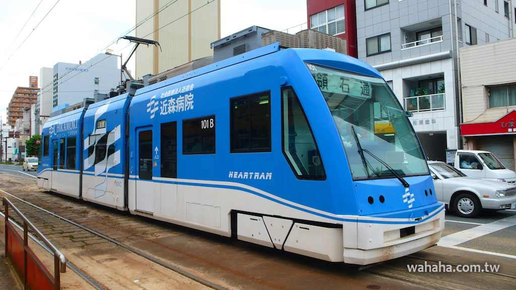 怒濤更新之路面電車(92):とさでん交通100形電車(ハートラム)