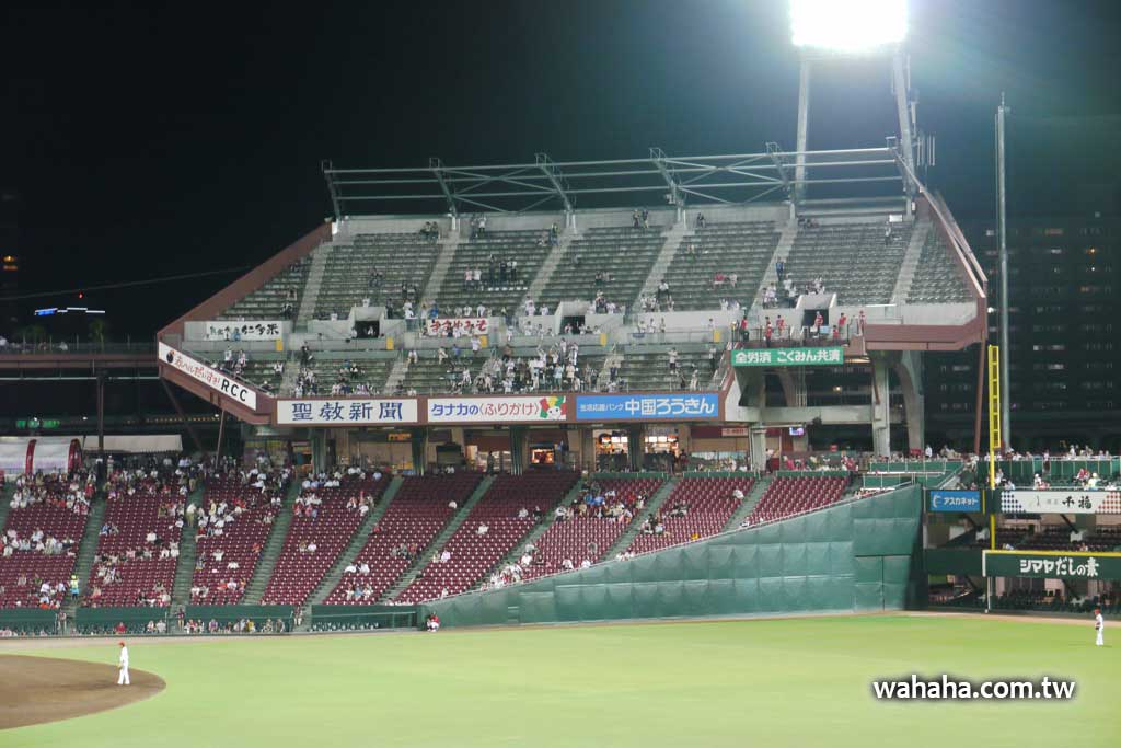 明明是滿座,為什麼馬自達球場客隊應援席還有一堆空位?