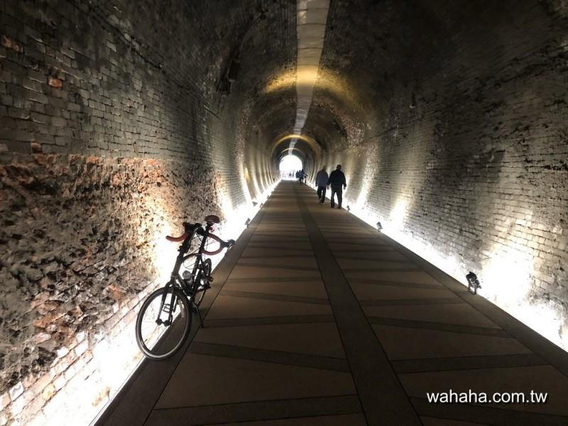 五堵台鐵舊隧道自行車道探路
